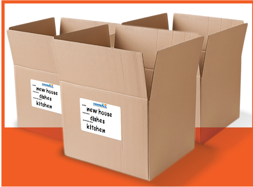 Packing labels image